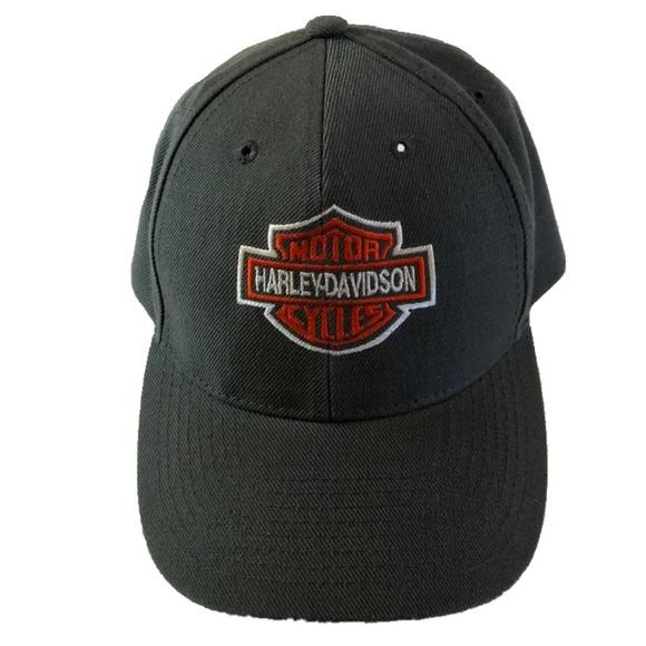 Harley-Davidson Other - Vintage Harley Davidson HD Logo Snapback Hat 4502285cc2d1